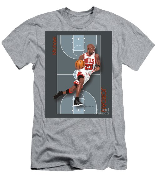 Michael Jordan, No. 23 Men's T-Shirt (Athletic Fit)