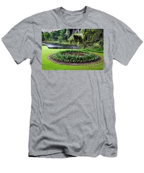 Middleton Gardens Mill Pond Men's T-Shirt (Athletic Fit)