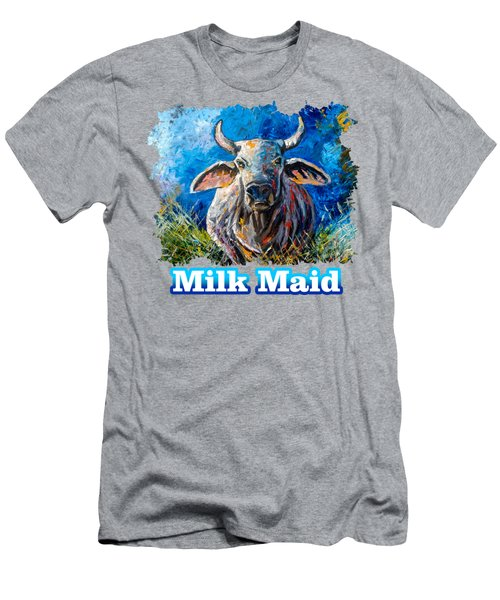 Milk Maid Men's T-Shirt (Athletic Fit)