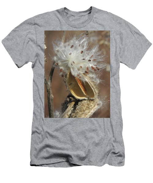 Milkweed Burst Men's T-Shirt (Athletic Fit)