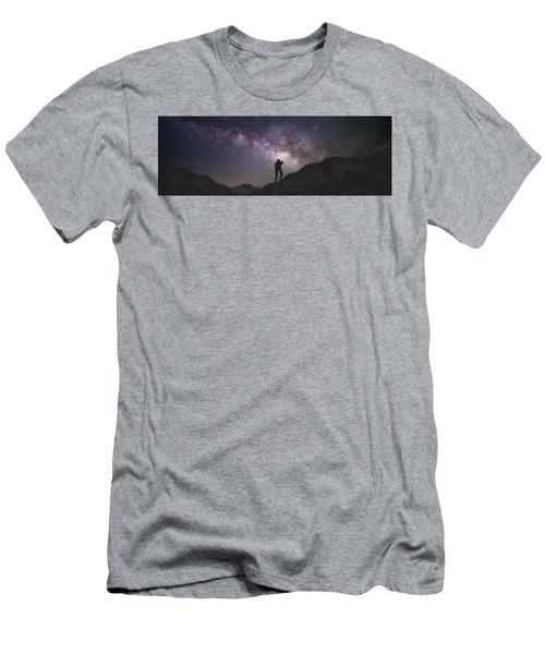 Milky Way Rappel Men's T-Shirt (Athletic Fit)