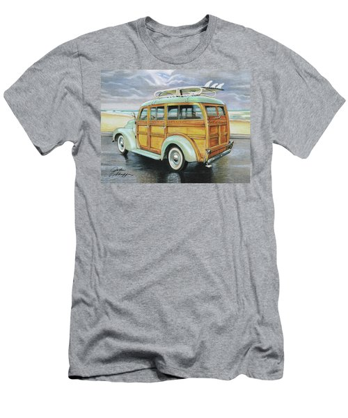 Mint Woody Men's T-Shirt (Athletic Fit)