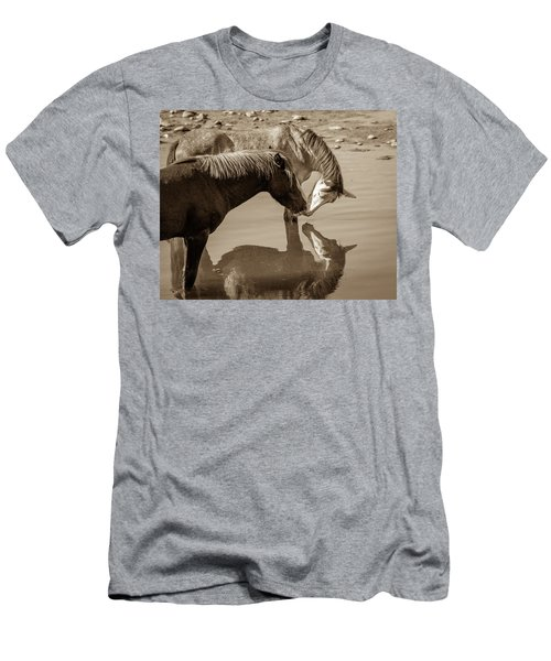 Mirrored Souls Men's T-Shirt (Athletic Fit)