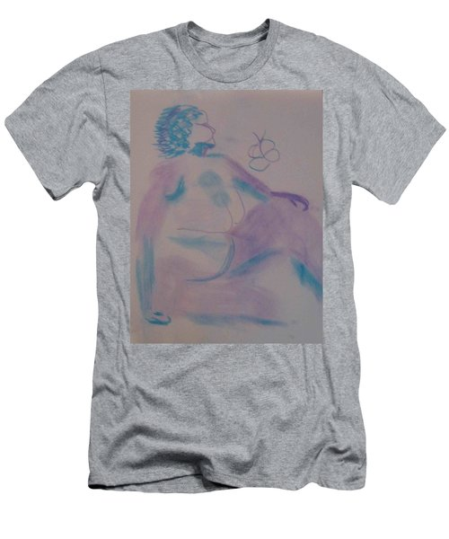 model named Helene Men's T-Shirt (Athletic Fit)