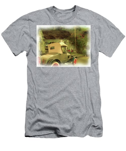 Model T In Barbados Men's T-Shirt (Athletic Fit)