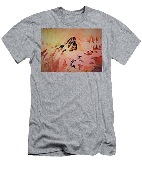 Monarch In Autumn Men's T-Shirt (Athletic Fit)