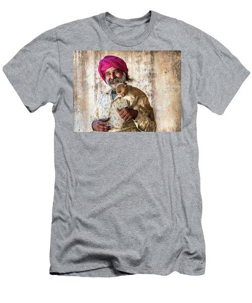 Monkey Temple Men's T-Shirt (Athletic Fit)