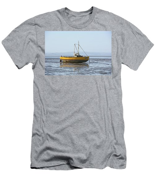 Morecambe. Yellow Fishing Boat. Men's T-Shirt (Athletic Fit)