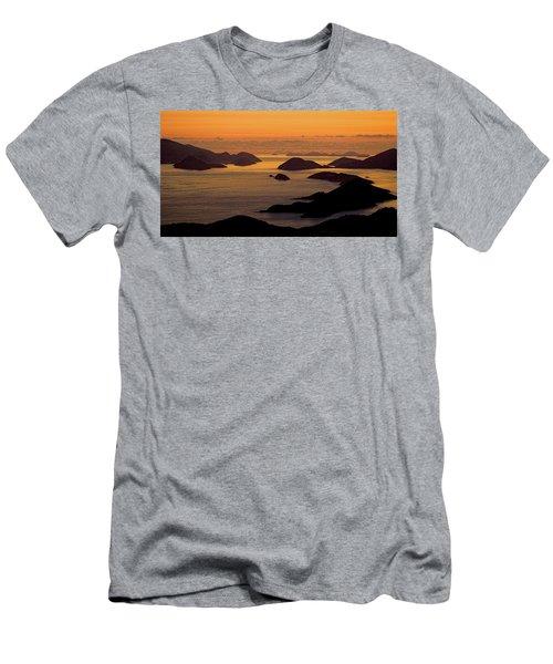 Morning Islands Men's T-Shirt (Athletic Fit)