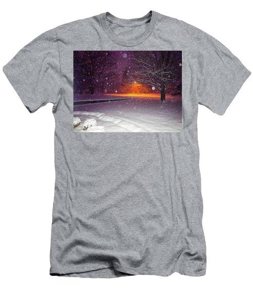 Morning Snow Men's T-Shirt (Athletic Fit)