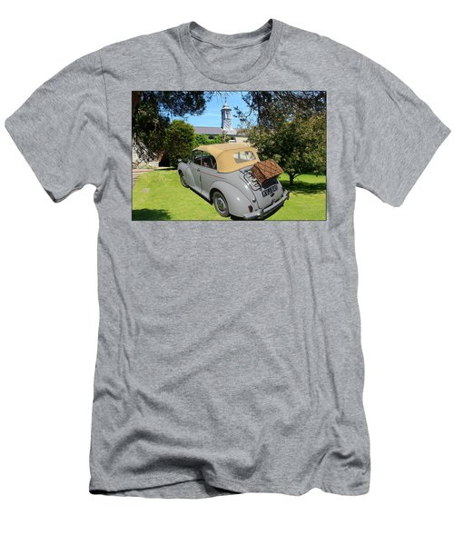 Morris Minor Grey Convertible Men's T-Shirt (Athletic Fit)