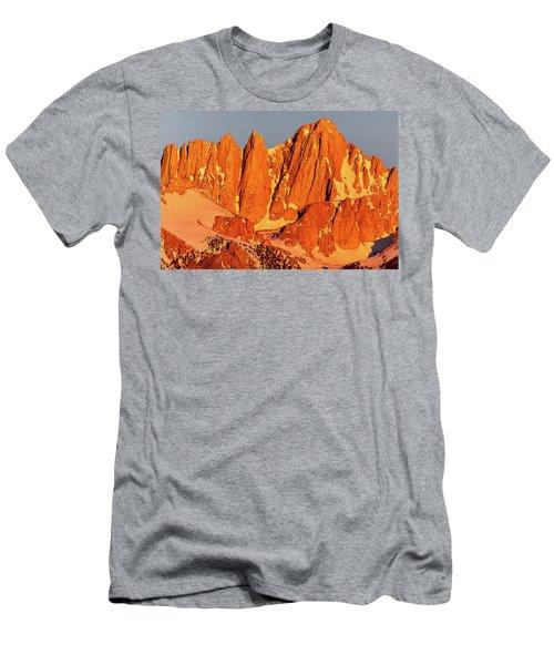 Mount Whitney Sunrise Men's T-Shirt (Athletic Fit)
