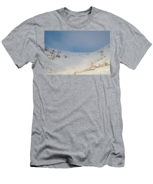 Mountain Light, Tuckerman Ravine Men's T-Shirt (Athletic Fit)
