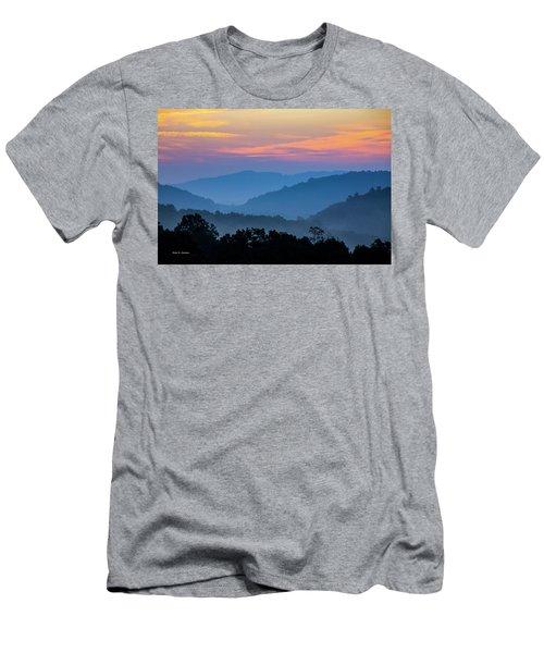 Mountain Tide Men's T-Shirt (Athletic Fit)