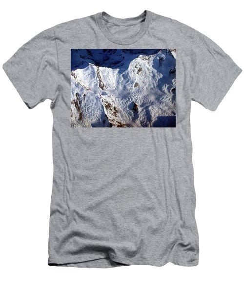 Mountaintop Snow Men's T-Shirt (Athletic Fit)