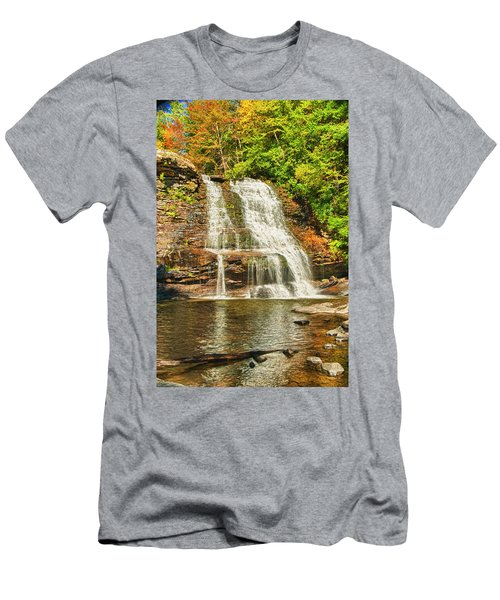 Muddy Creek Falls Men's T-Shirt (Athletic Fit)