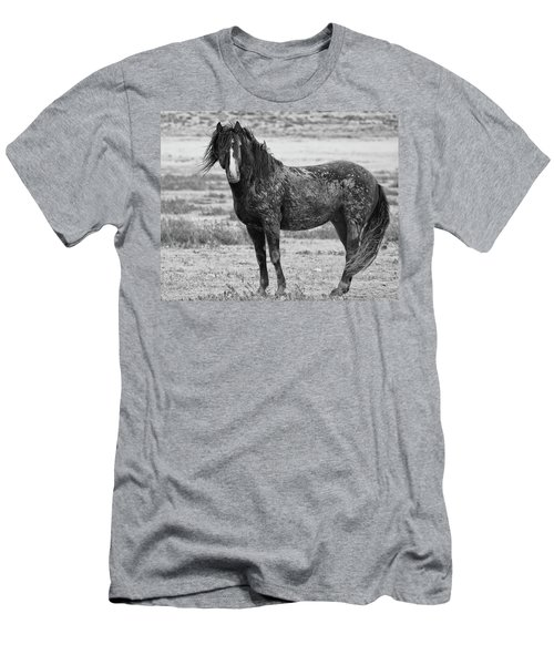 Muddy Mustang Men's T-Shirt (Athletic Fit)