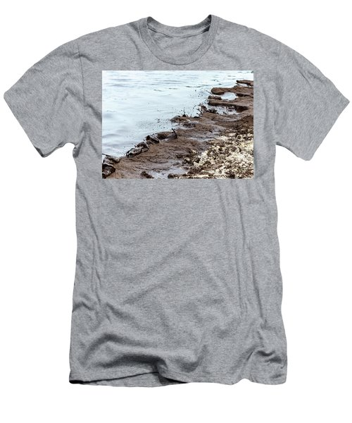 Muddy Sea Shore Men's T-Shirt (Athletic Fit)