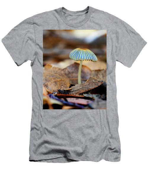 Mushroom Under The Oak Tree Men's T-Shirt (Athletic Fit)