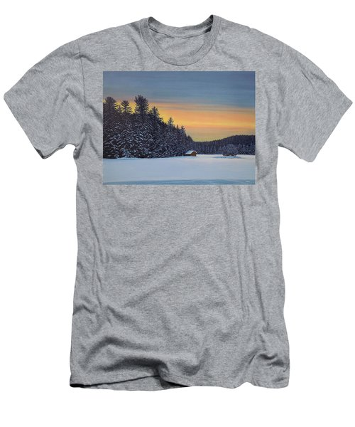 Muskoka Winter Men's T-Shirt (Athletic Fit)