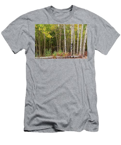 Men's T-Shirt (Athletic Fit) featuring the photograph Nature Fallen by James BO Insogna