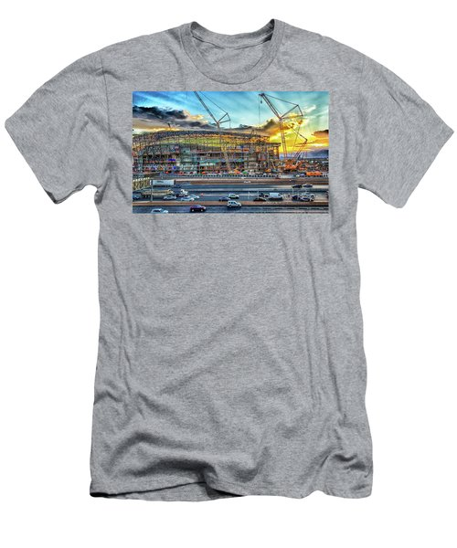 New Home For Las Vegas Raiders Men's T-Shirt (Athletic Fit)