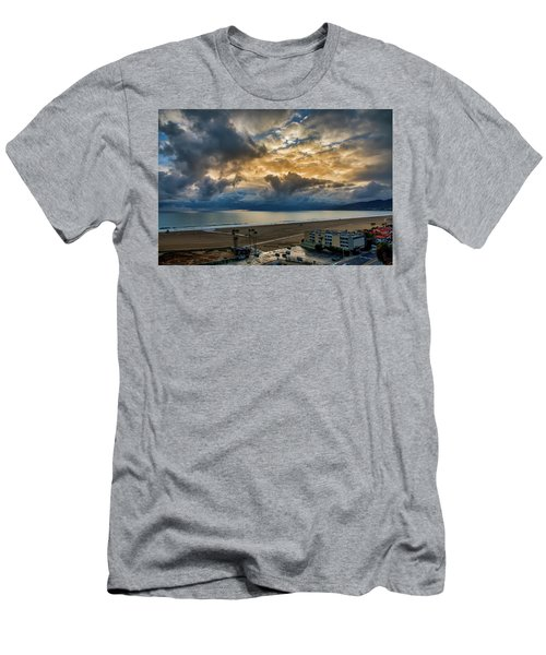 New Sky After The Rain Men's T-Shirt (Athletic Fit)