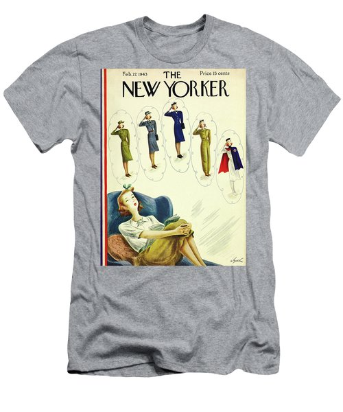 New Yorker February 27th 1943 Men's T-Shirt (Athletic Fit)