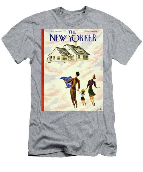 New Yorker July 20 1946 Men's T-Shirt (Athletic Fit)