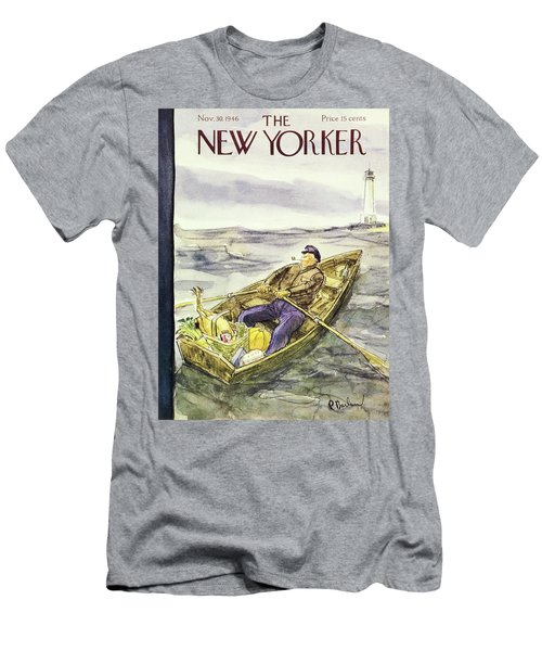 New Yorker November 30th 1946 Men's T-Shirt (Athletic Fit)