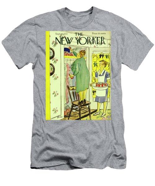 New Yorker September 25th 1943 Men's T-Shirt (Athletic Fit)