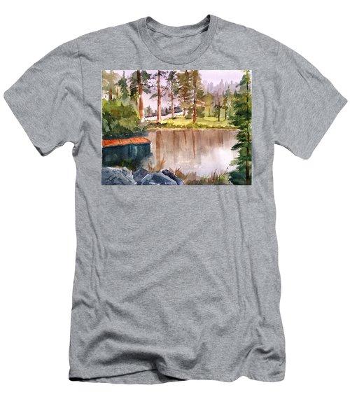 Nez Perce Lake Men's T-Shirt (Athletic Fit)