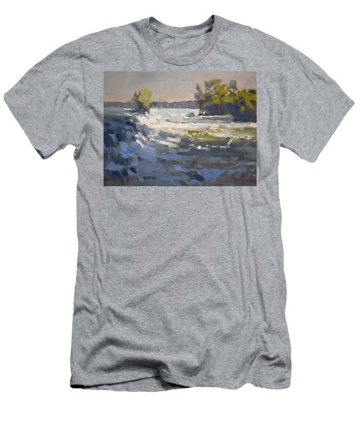 Niagra River At Goat Island Men's T-Shirt (Athletic Fit)