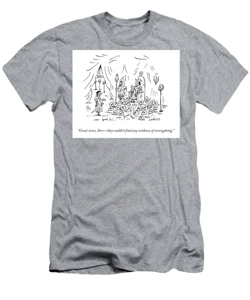 No Evidence Of Wrongdoing Men's T-Shirt (Athletic Fit)