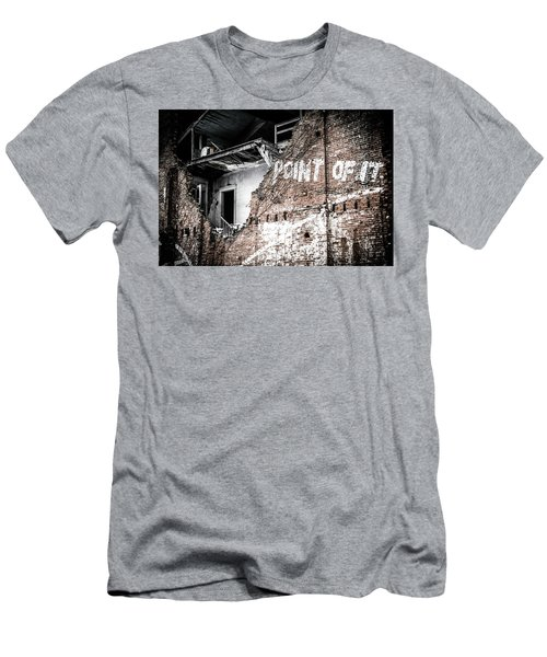 Men's T-Shirt (Athletic Fit) featuring the photograph No Return by Melissa Lane