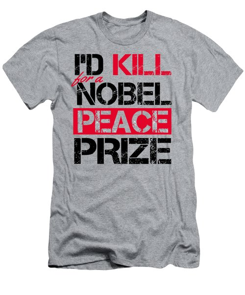 Nobel Prize Men's T-Shirt (Athletic Fit)
