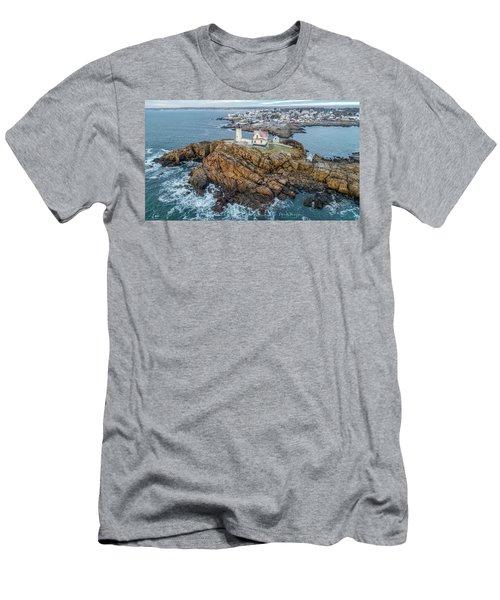 Nubble Light Winter Men's T-Shirt (Athletic Fit)