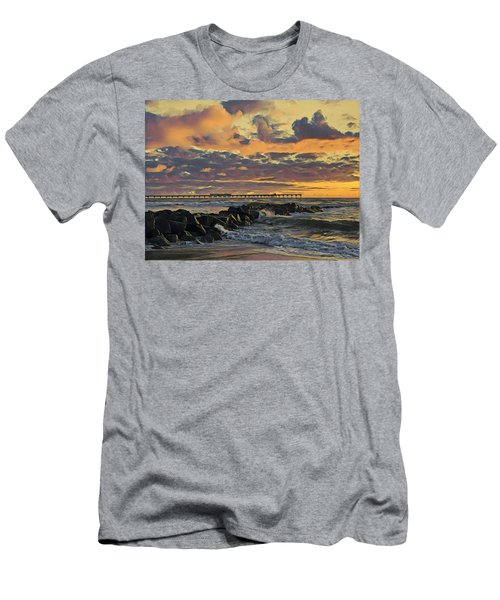 Ob Sunset No. 3 Men's T-Shirt (Athletic Fit)