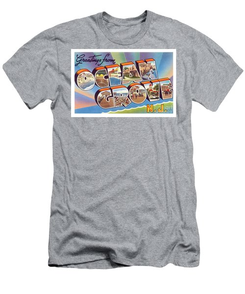 Men's T-Shirt (Athletic Fit) featuring the photograph Ocean Grove Greetings by Mark Miller