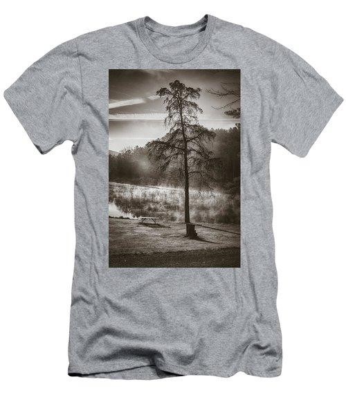 Odd Pair Sepia Men's T-Shirt (Athletic Fit)
