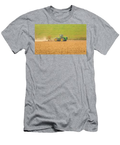 Men's T-Shirt (Athletic Fit) featuring the photograph Ohio Farmer by Dan Sproul