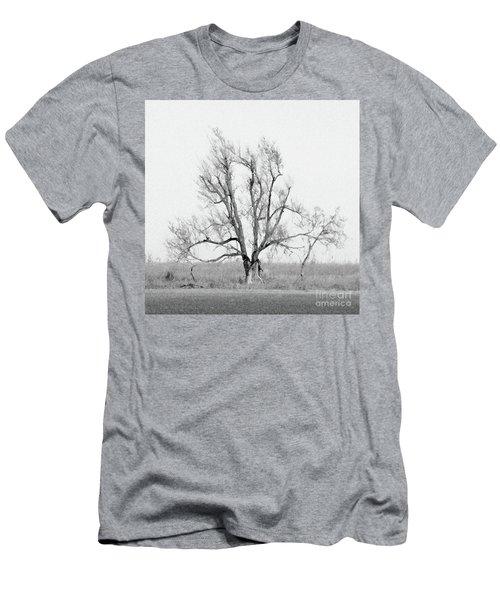 Oklahoma Tree Men's T-Shirt (Athletic Fit)
