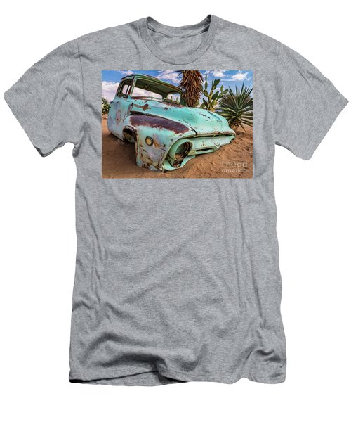 Old And Abandoned Car 7 In Solitaire, Namibia Men's T-Shirt (Athletic Fit)