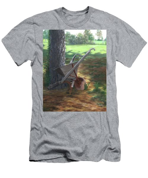 Old Farm Seeder, Louisiana Men's T-Shirt (Athletic Fit)