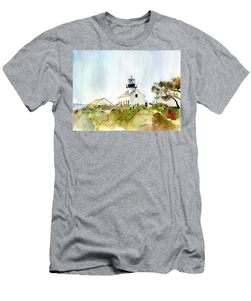 Old Point Loma Light Men's T-Shirt (Athletic Fit)