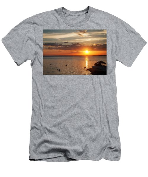 On The Sea Men's T-Shirt (Athletic Fit)