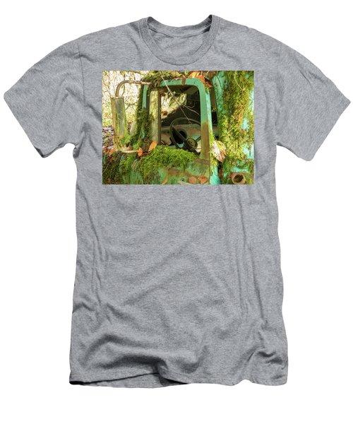 Open Truck Door Men's T-Shirt (Athletic Fit)