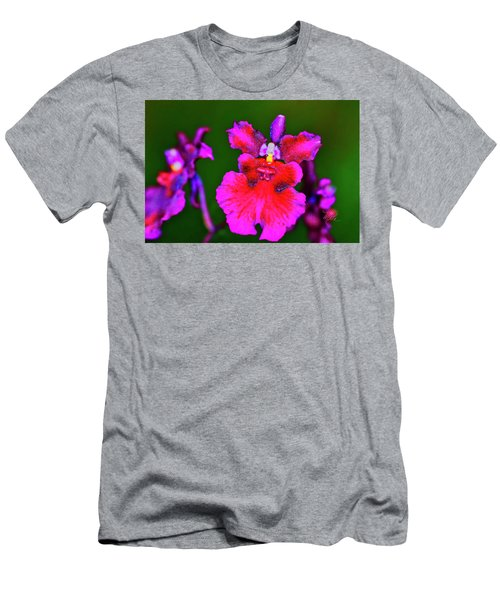Orchid Study Three Men's T-Shirt (Athletic Fit)