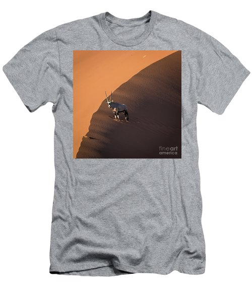 Oryx On The Edge, Namibia Men's T-Shirt (Athletic Fit)