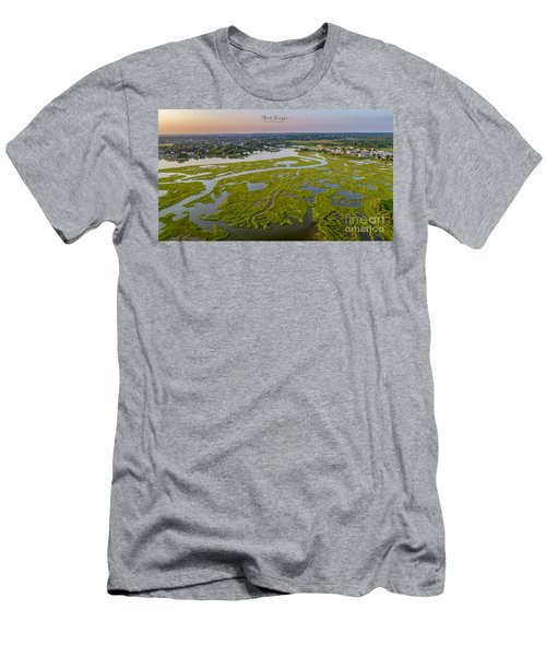 Men's T-Shirt (Athletic Fit) featuring the photograph Other Side Winnipaug  by Michael Hughes